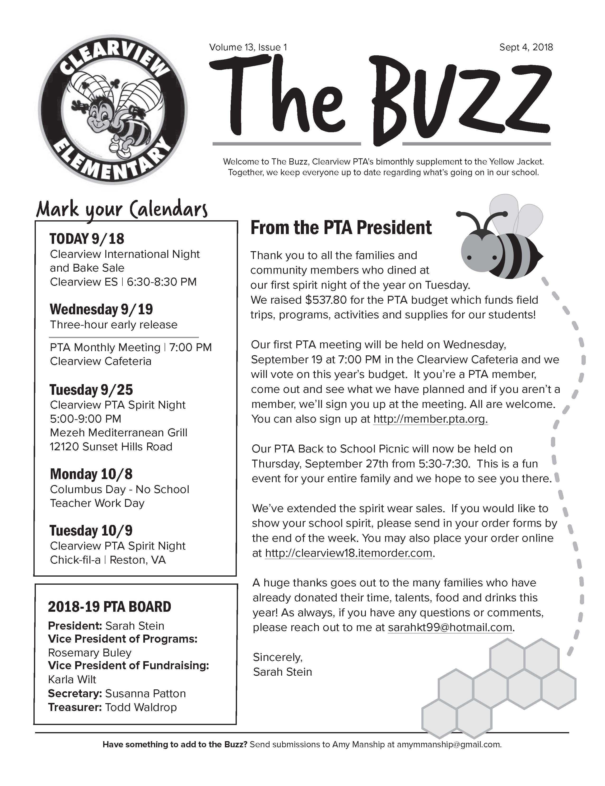 Buzz page 1